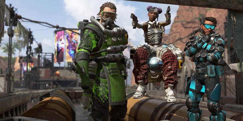 Conoce a los personajes de Apex Legends, el Battle Royale de EA