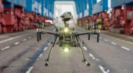 Así se están usando drones DJI para combatir el COVID-19