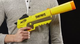 Así son las pistolas NERF inspiradas en el videojuego Fortnite