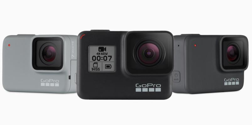 GoPro iniciará la producción de sus cámaras en Guadalajara
