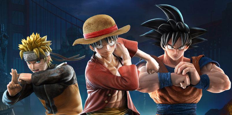 Inician las batallas en Jump Force, el mejor crossover de Manga