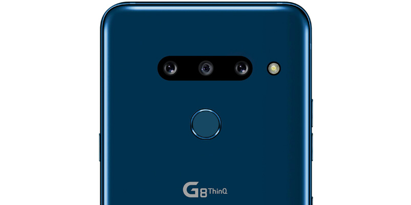 LG G8 ThinQ camaras