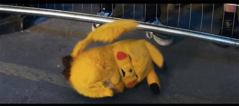 Pokemon Detective Pikachu lloron