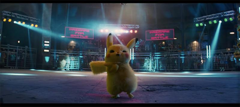 Pokemon Detective Pikachu peleando