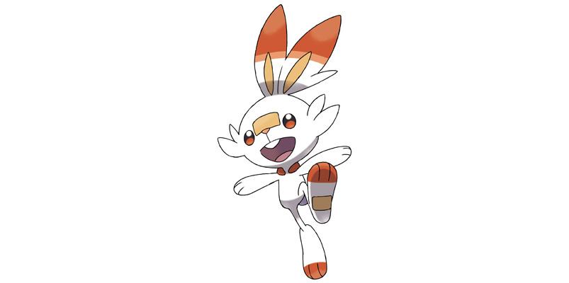 Pokemon Scorbunny