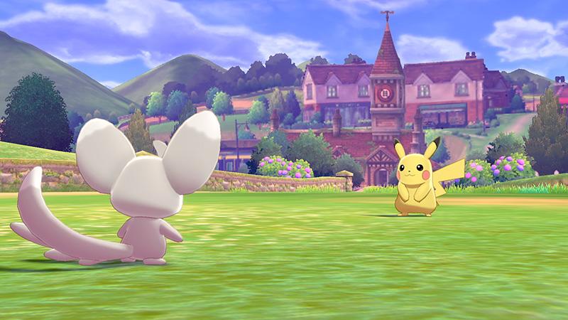 Pokemon Sword Pokemon Shield pikachu