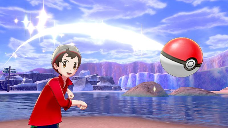 Pokemon Sword Pokemon Shield pokebola