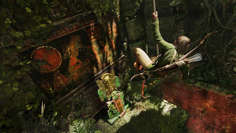 The Price of Survival Tomb Raider Lara