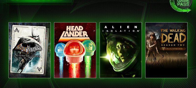 Xbox Game Pass cinco juegos febrero 2019