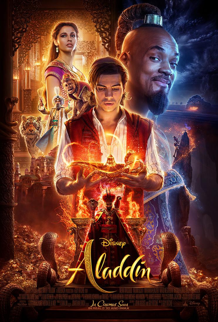Aladdin Disney poster 2