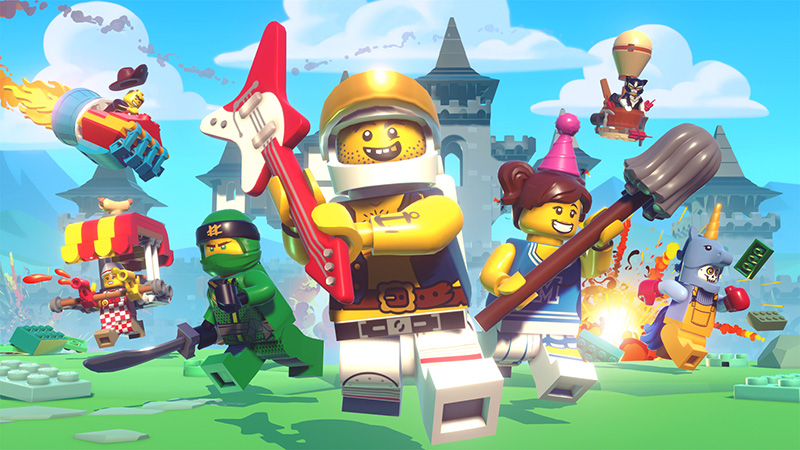 Apple arcade lego brawls