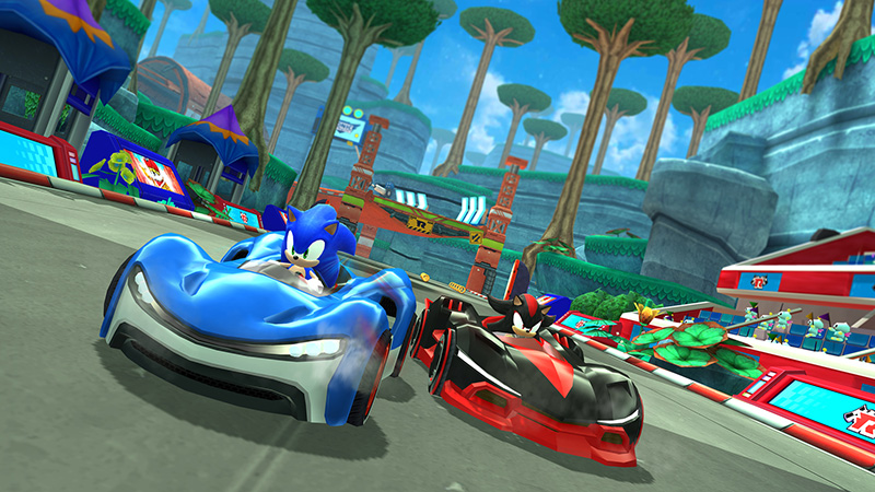 Apple arcade sonic racing