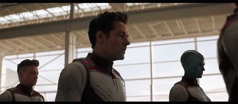 Avengers Endgame ant-man traje