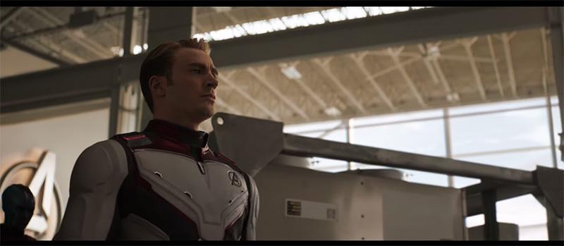 Avengers Endgame capitan america traje
