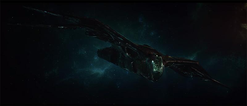 Avengers Endgame nave iron man