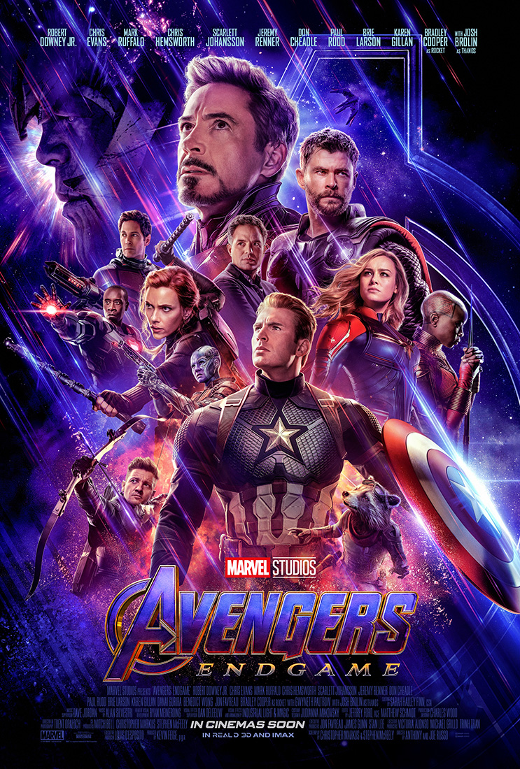 Avengers Endgame poster dos