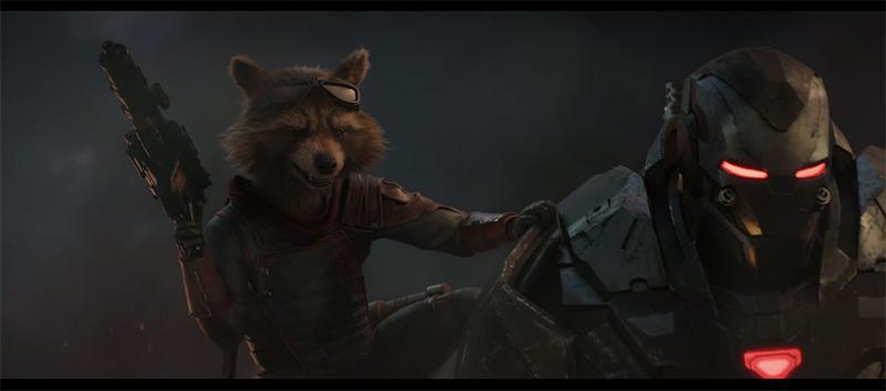 Avengers Endgame rocket
