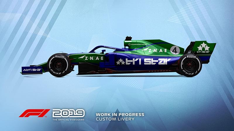F1 2019 Personalizacion 1