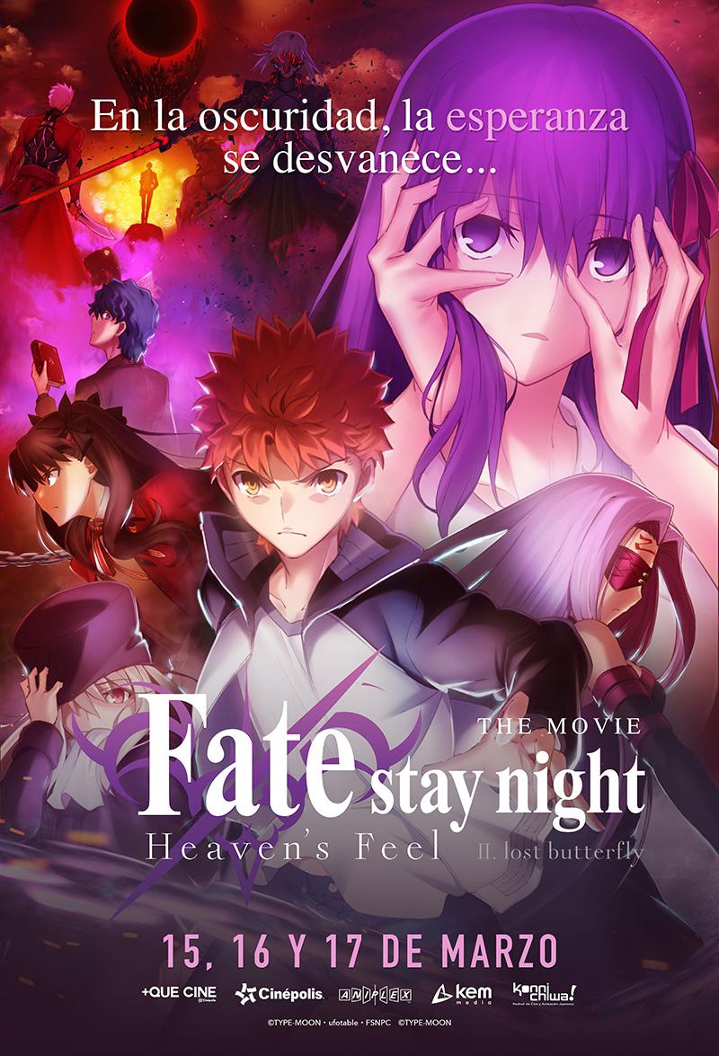 FateStay Night Heavens Feel Parte II poster
