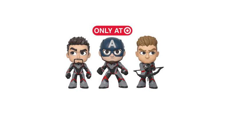 Funko Mystery Mini de Endgame Stark Captain America Hawkeye