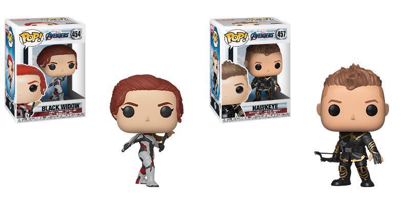 Funko Pop Black Widow Funko Pop Hawkeye Avengers Endgame