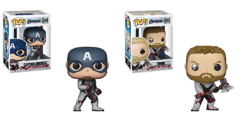 Funko-Pop Captain America Funko Pop Thor Avengers Endgame