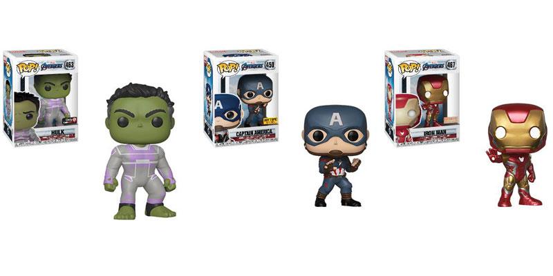 Funko Pop Hulk Capitan America Iron Man Avengers Endgame