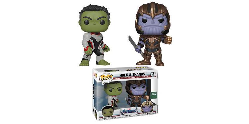 Funko Pop Hulk Warrior Thanos Avengers Endgame