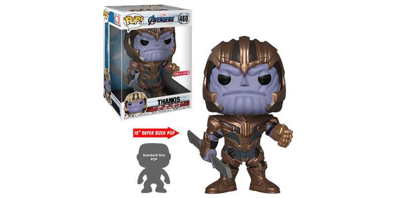 Funko Pop Thanos 10 pulgadas Avengers Endgame
