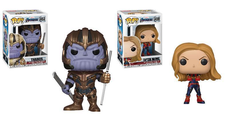 Funko Pop Thanos Funko Pop Captain Marvel Avengers Endgame