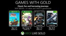 Los Games with Gold que puedes descargar en marzo de 2019