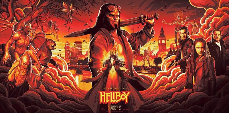 Hellboy Brawlhalla personajes
