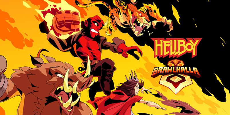 Hellboy de Neil Marshall y más personajes llegarán a Brawlhalla
