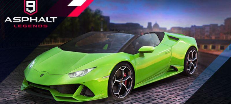 Lamborghini Huracan EVO Spyder Asphalt 9 Legends