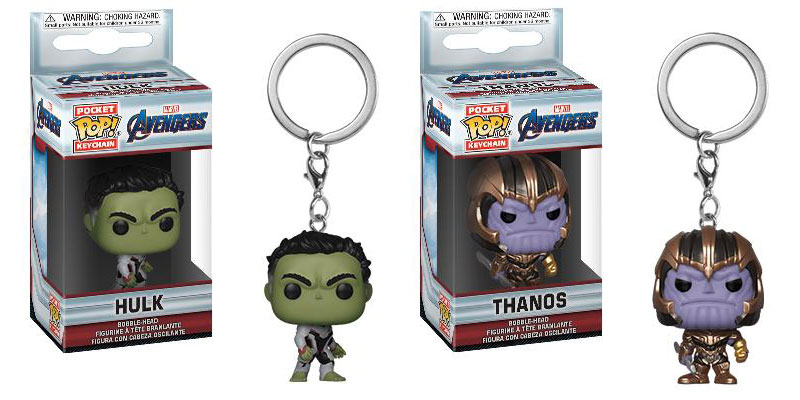 Llavero Funko Hulk llavero Funko Thanos Endgame