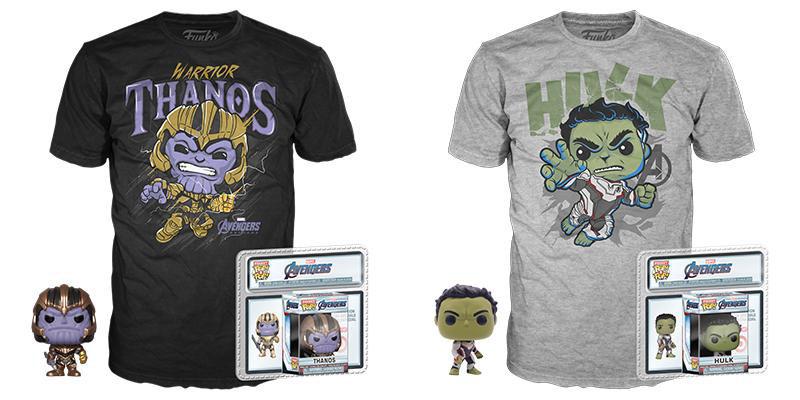 Playera Funko Warrior Thanos Playera Funko Hulk Avengers Endgame