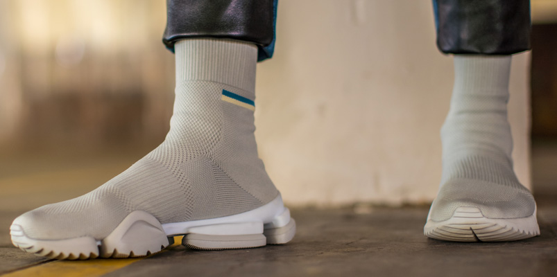 Reebok Sock Run.R regresa con elementos del Pump Evo
