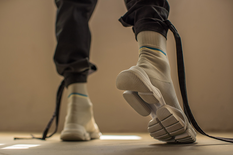 Reebok Sock Run R laces