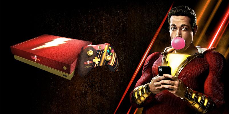 Sé un superhéroe Xbox y llévate el Xbox One X de Shazam!