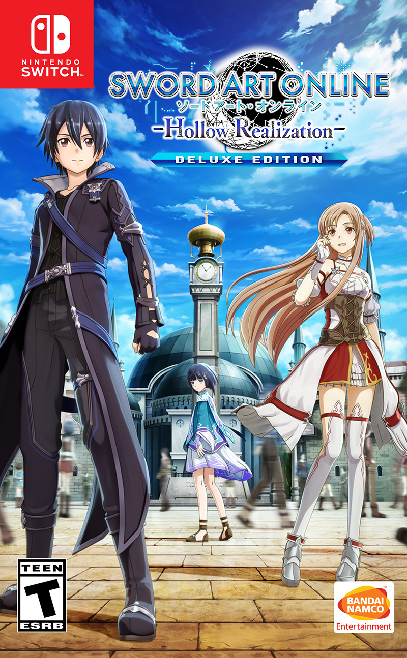 Sword Art Online Hollow Realization Deluxe Editon caja