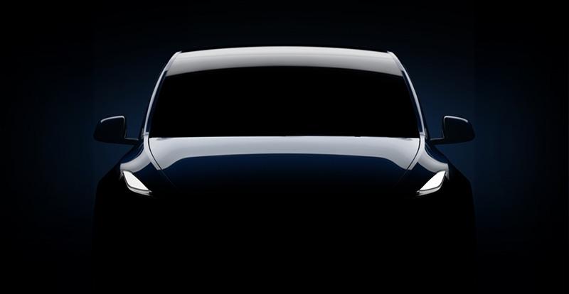 Tesla Model Y luces