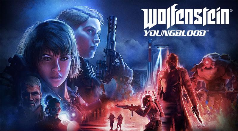 Wolfenstein Youngblood arte