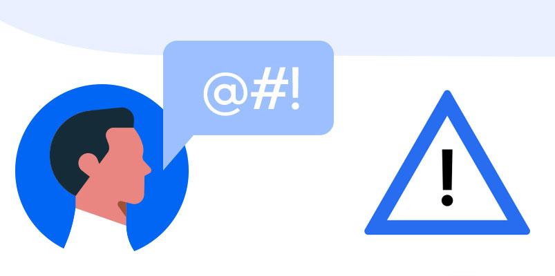 Alerta Uber lenguaje inapropiado