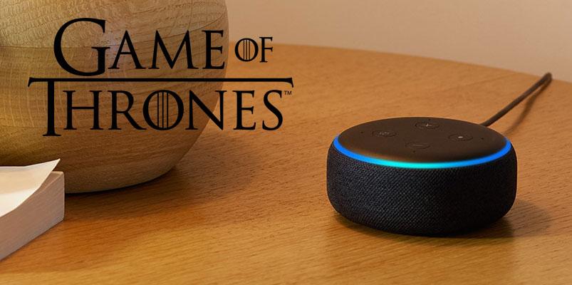 Con ayuda de Alexa, convierte en un experto de Game of Thrones