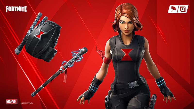 Fortnite Avengers Black Widow
