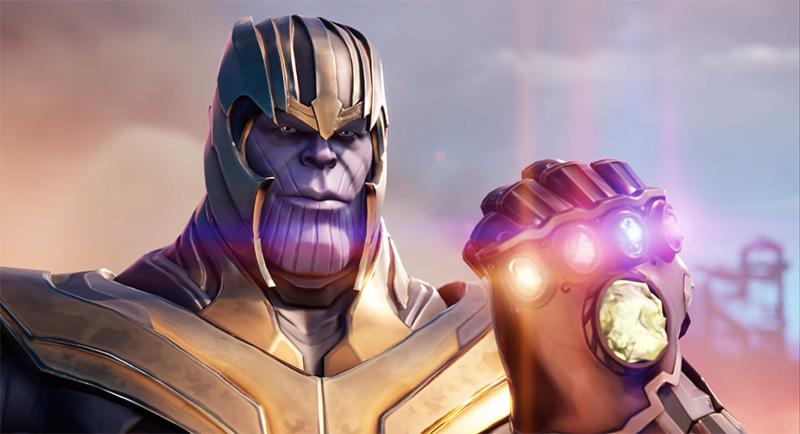 Fortnite Avengers Thanos 2019