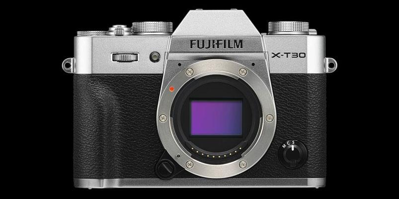 La nueva cámara compacta Fujifilm X-T30 está llegando a México