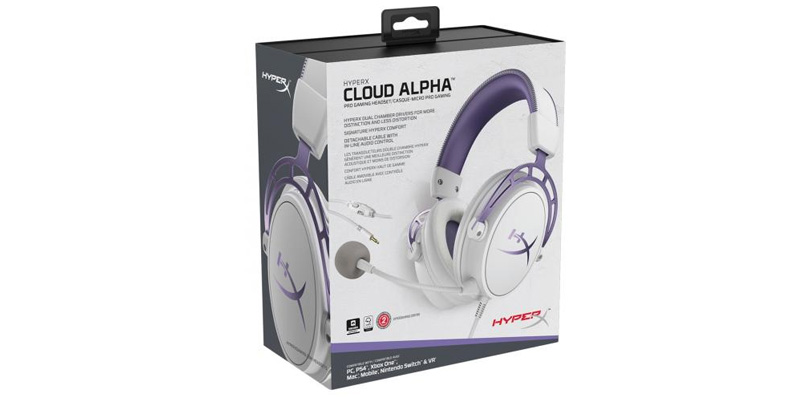 HyperX Cloud Alpha Purple Edition Mexico