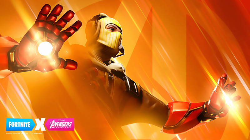 Iron Man Fortnite