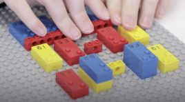 LEGO Braille Bricks, juguetes especiales para niños invidentes